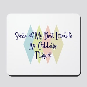 Cribbage Players Friends Mousepad
