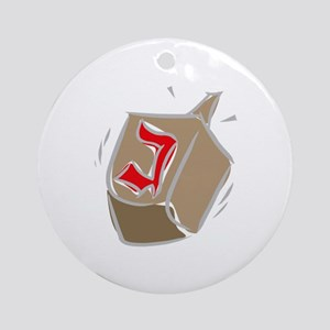 Dreidel Ornament (Round)