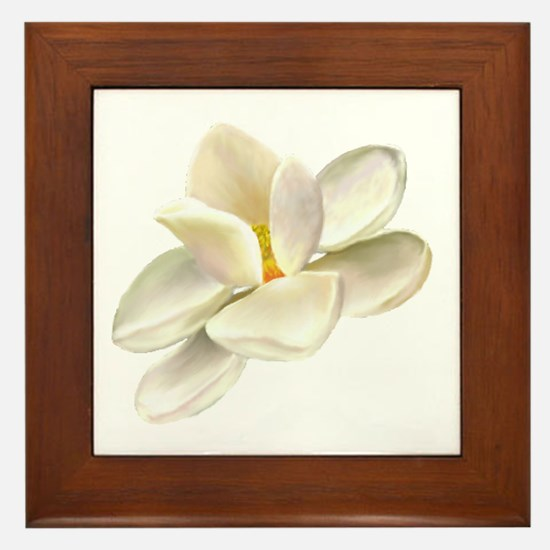 Magnolia Framed Tile