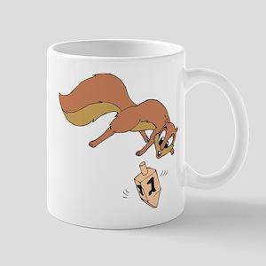 Chipmunk & Dreidel Mug