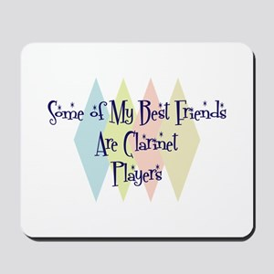 Clarinet Players Friends Mousepad
