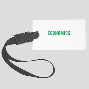 Funny Economics Major, College S Large Luggage Tag