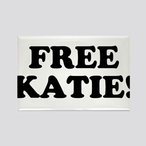 Free Katie Rectangle Magnet