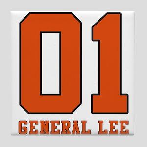 General Lee Tile Coaster