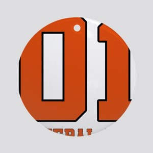 General Lee Ornament (Round)