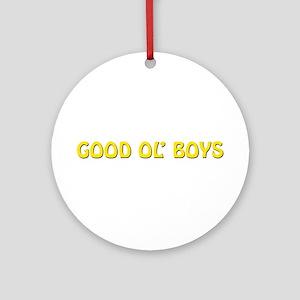 Good Ol' Boys Ornament (Round)