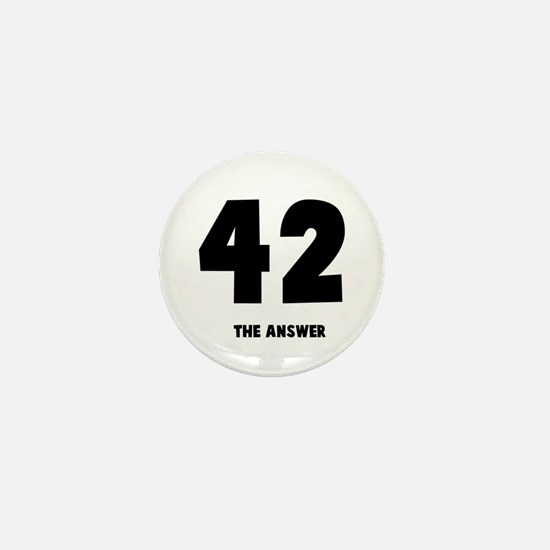 42 the answer to the question Mini Button