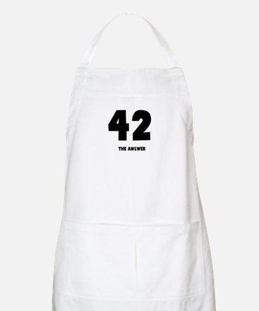 42 the answer to the question BBQ Apron