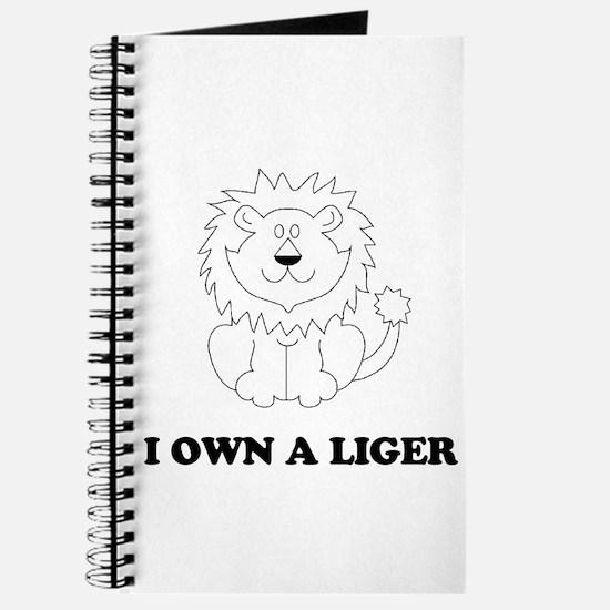 I Own A Liger - alternate Journal