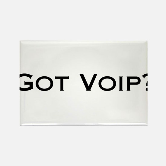 Got VOIP? Rectangle Magnet (10 pack)