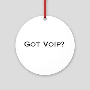 Got VOIP? Ornament (Round)