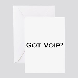 Got VOIP? Greeting Card