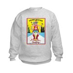 CRIME BUSTER(American Cowboy) Kids Sweatshirt