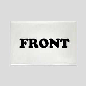 Front and Back Rectangle Magnet