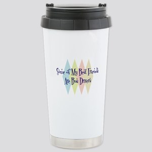 Bus Drivers Friends Stainless Steel Travel Mug