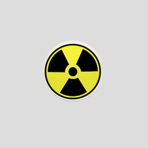 Radioactive Symbol Mini Button