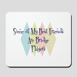 Bridge Players Friends Mousepad