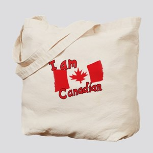 I Am Canadian Tote Bag