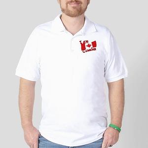 I Am Canadian Golf Shirt