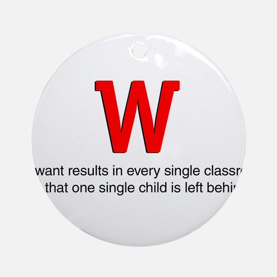 We want results in... Ornament (Round)