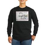 Ike Survived Me Long Sleeve Dark T-Shirt