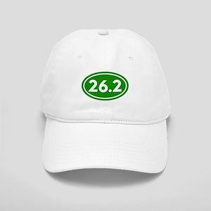 Green 26.2 Marathon Runner Cap