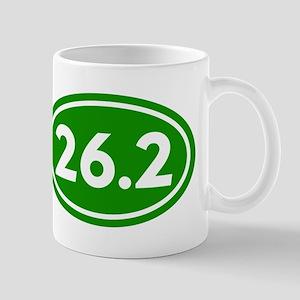 Green 26.2 Marathon Runner Mug