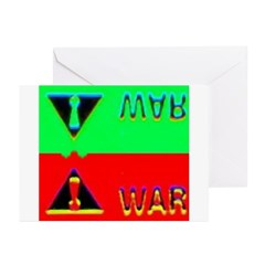 Dr. Peppy WARning Greeting Cards (Pk of 10)