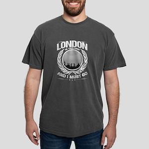 London is Calling City Skyline Gray T-Shirt