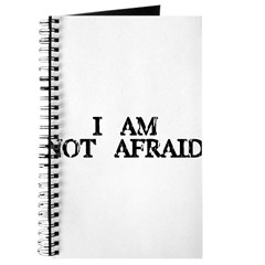 we're not afraid Journal