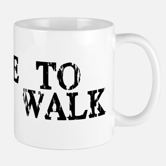 Free To Moon Walk Mug