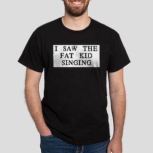 Fat Kid Singing Dark T-Shirt