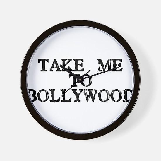 Take Me To Bollywood Wall Clock