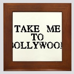 Take Me To Bollywood Framed Tile