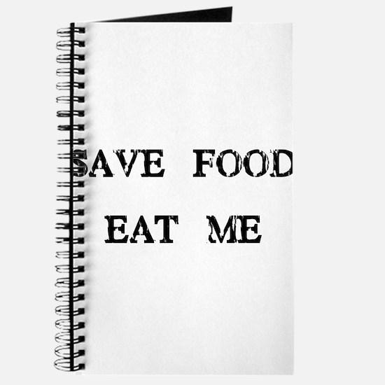 Save Food Eat Me Journal
