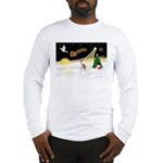 Night Flight/Ital Greyhound Long Sleeve T-Shirt