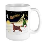 Night Flight/Irish Setter Large Mug