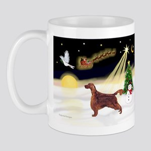 Night Flight/Irish Setter Mug