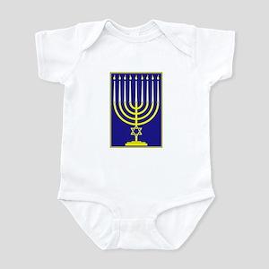 Menorah Infant Bodysuit
