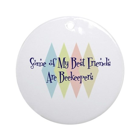 Beekeepers Friends Ornament (Round)