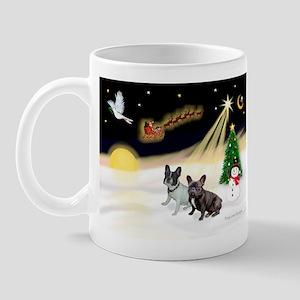 Night Flight/2 Fr Bulldogs Mug