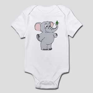 Elephant & Dreidel Infant Bodysuit