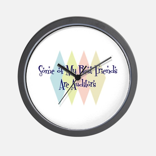 Auditors Friends Wall Clock