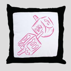 Dreidels Throw Pillow