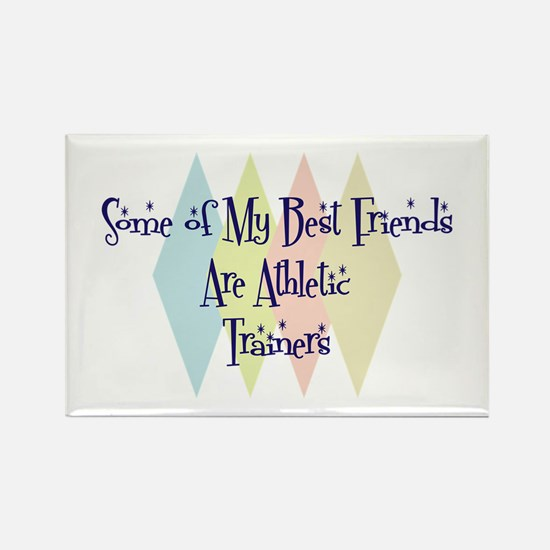 Athletic Trainers Friends Rectangle Magnet