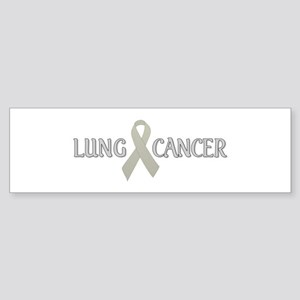 Lung Cancer Bumper Sticker