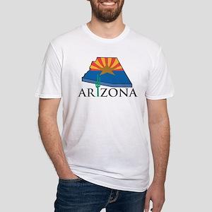Arizona Pride! Fitted T-Shirt