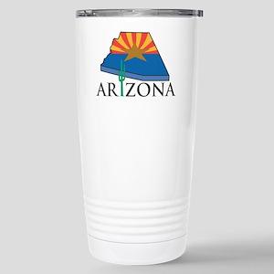Arizona Pride! Stainless Steel Travel Mug