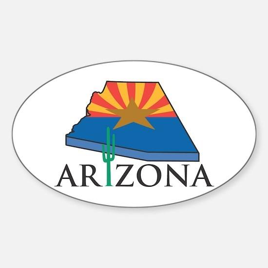 Arizona Pride! Oval Decal