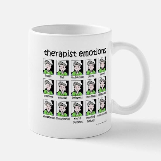 therapist emotions Mug
